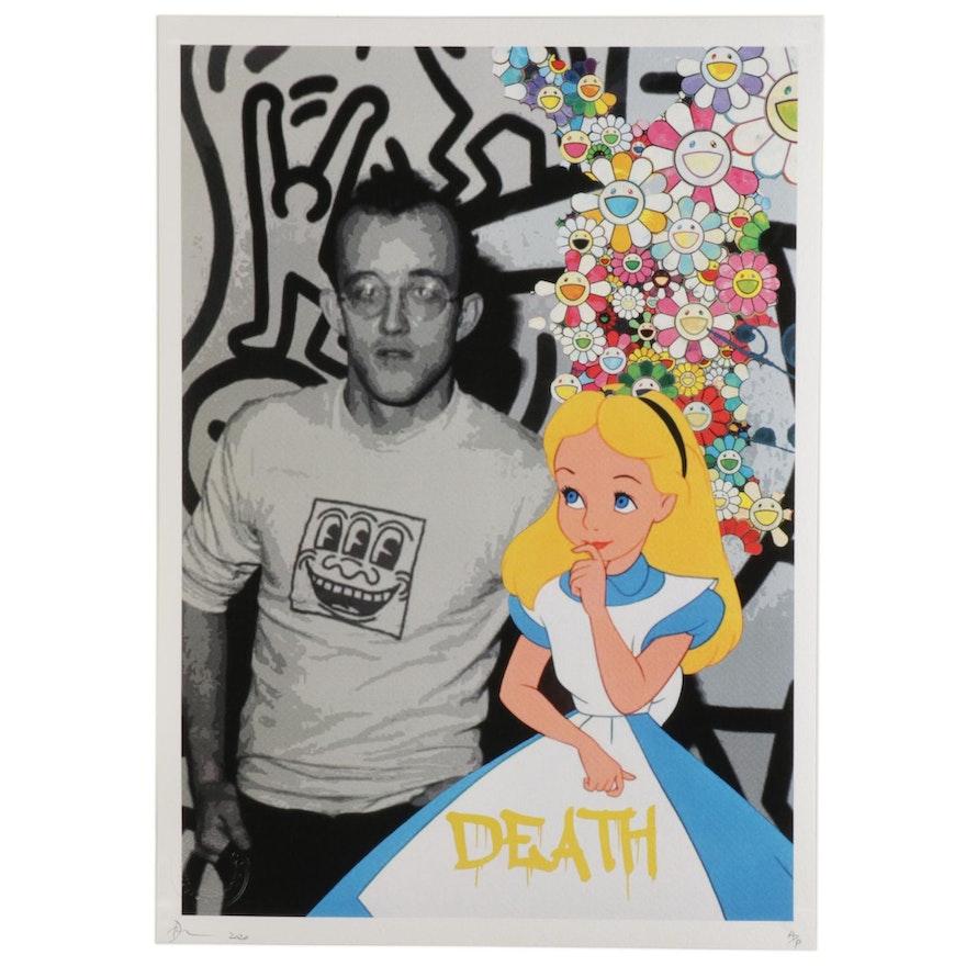 "Death NYC Pop Art Graphic Print ""Alice Haring,"" 2020"