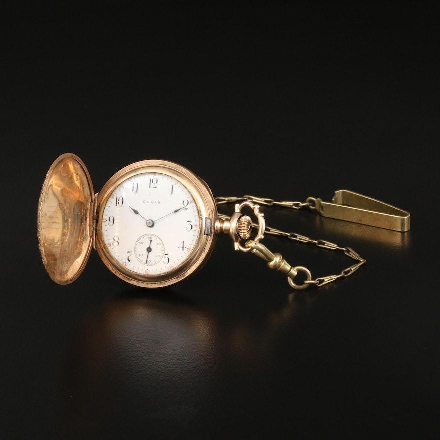 1910 Elgin, O Size Pocket Watch