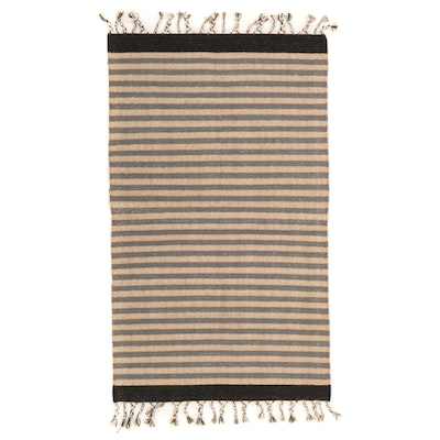 3'1 x 5'9 Handwoven Wool Accent Rug
