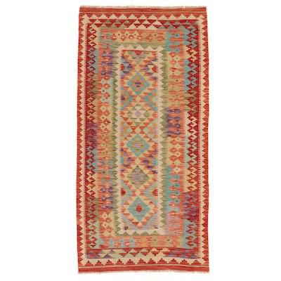 3'3 x 6'7 Handwoven Afghan Kilim Area Rug