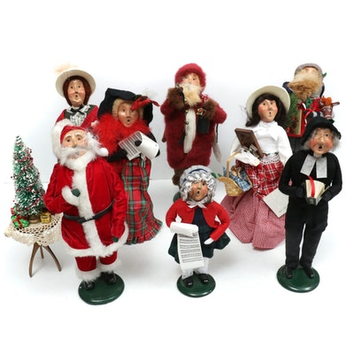 Byers' Choice Handcrafted Christmas Caroler Figurines, 1990s