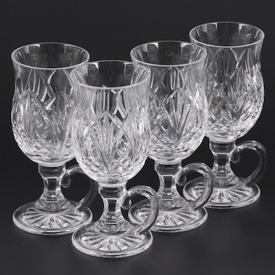 """Waterford """"Waterville"""" Crystal Irish Coffee Cups"""