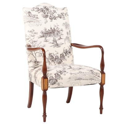 "Hickory Chair ""Martha Washington"" Lolling Chair"