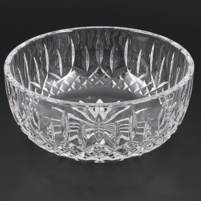 "Waterford ""Lismore"" Crystal Round Serving Bowl"