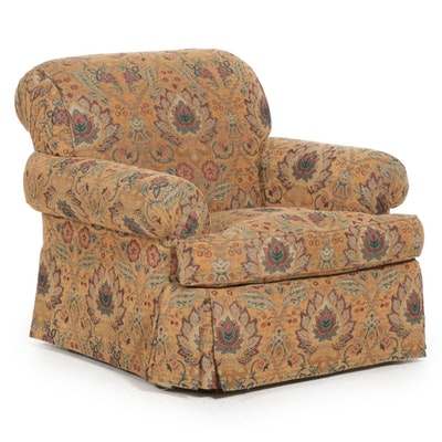 Sherrill Upholstered Armchair, Late 20th to 21st Century