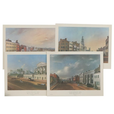 Offset Lithographs after John Casper Wild of Cincinnati, Late 20th Century