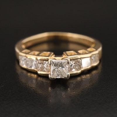 14K 1.51 CTW Diamond Ring