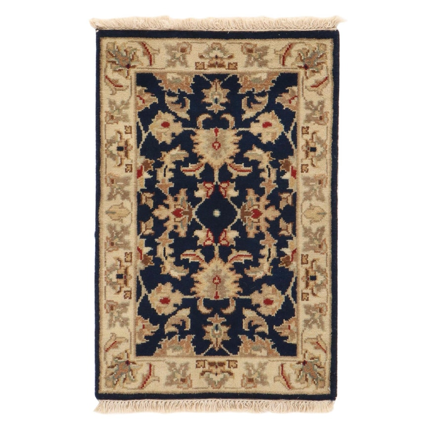 2' x 3'3 Hand-Knotted Indo-Persian Tabriz Rug, 2010s