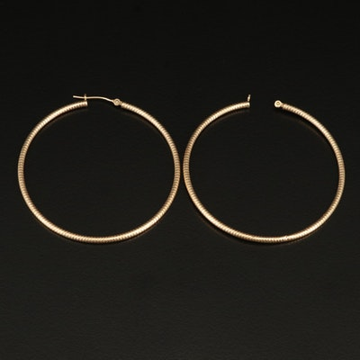 14K Scrap Earrings
