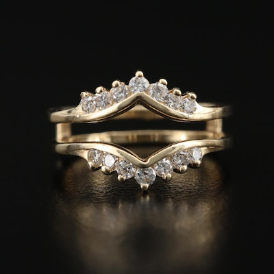 14K Diamond Ring Jacket