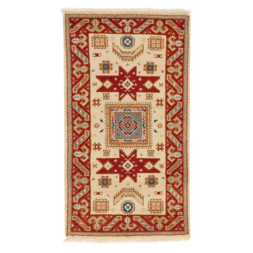 2'11 x 5'5 Hand-Knotted Indo-Persian Tabriz Rug, 2010s