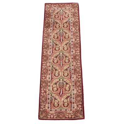 "2'3 x 8'0 Hand-Tufted Capel Chinese ""Burma Silk-Newport"" Wool and Silk Runner"