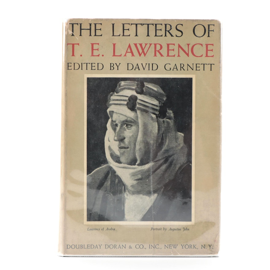 "First Edition ""The Letters of T. E. Lawrence"" Edited by David Garnett, 1939"
