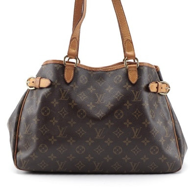Louis Vuitton Batignolles Horizontal Tote in Monogram Canvas