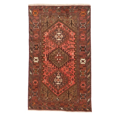 4' x 6'9 Hand-Knotted Persian Malayer Rug, 2000s