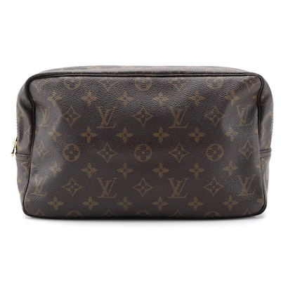 Louis Vuitton Trousse Toilette 28 Pouch in Monogram Canvas