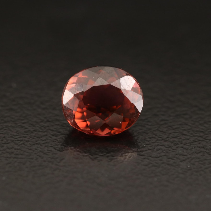 Loose 1.56 CTW Oval Faceted Tourmaline