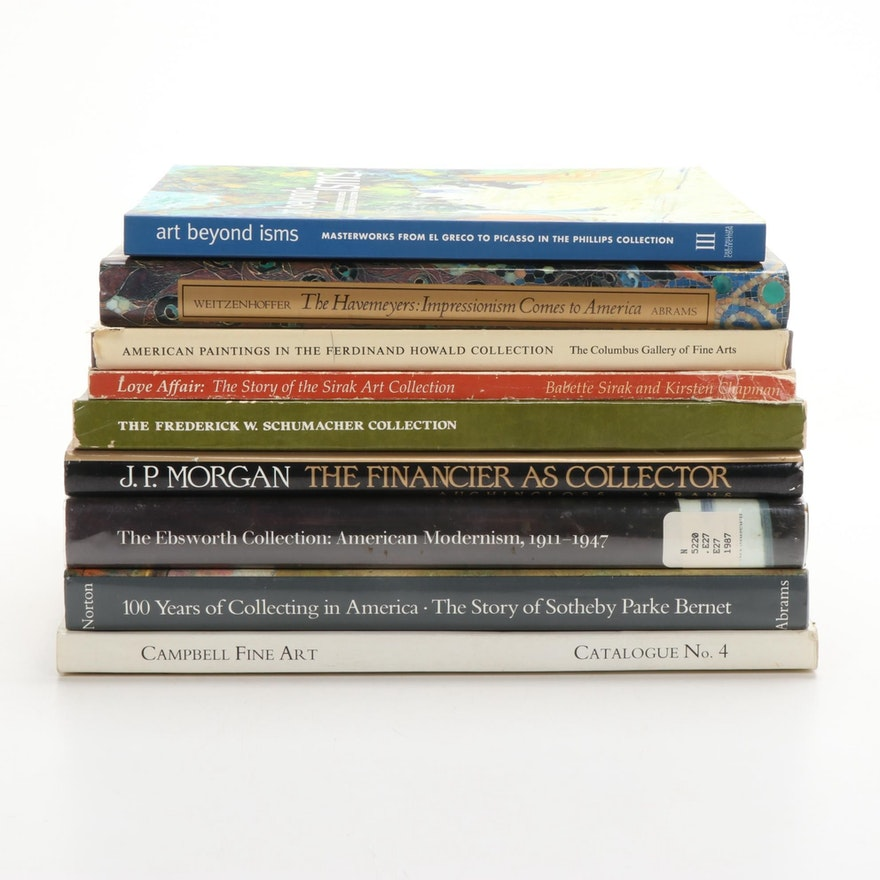 """""""100 Years of Collecting in America"""" and More Books on Art Collections"""