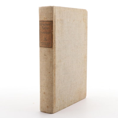 "First Edition ""Seasoned Timber"" by Dorothy Canfield, 1939"