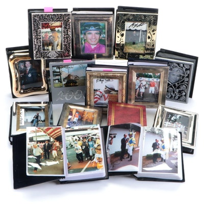 Personal Photograph Albums Including Signed Jockey Photos