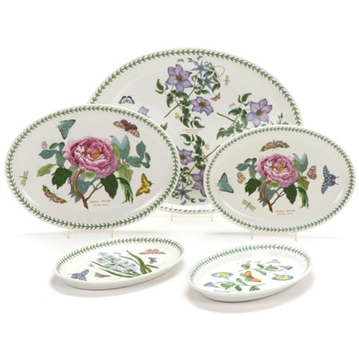 "Portmeirion ""The Botanic Garden"" Platters and Serving Plates"