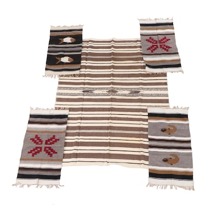 Handwoven New Mexican Wool Area and Accent Rugs