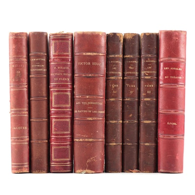 """French Language """"Les confessions"""" by Jean-Jacques Rousseau and More"""