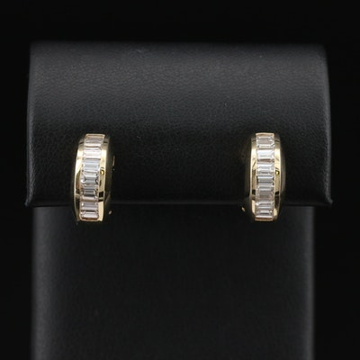 14K 2.07 CTW Diamond Earrings