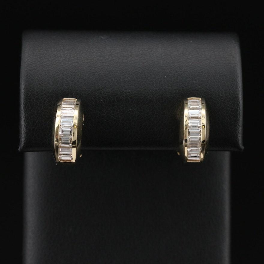 14K 2.07 CTW Diamond Earrings