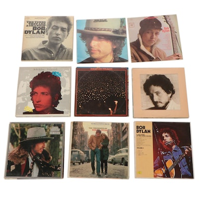 """Bob Dylan Vinyl LP Records Featuring """"Desire"""" and Others"""