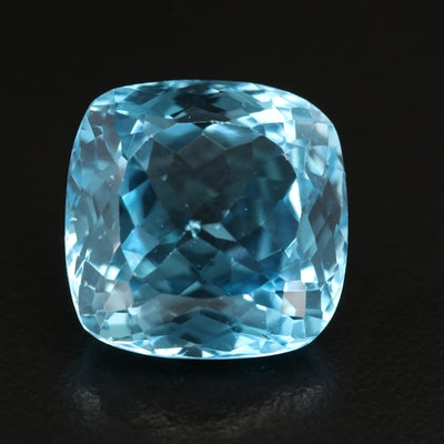Loose 27.65 CT Square Topaz