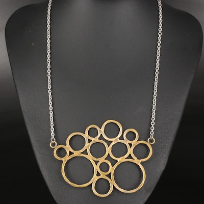 Circles Pendant Necklace