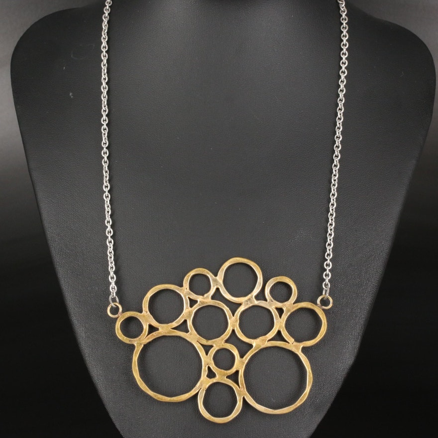 Circles Pendant Necklace
