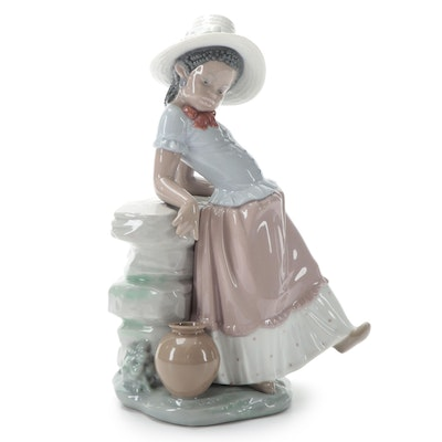 "Lladró ""A Steppin' Time"" Porcelain Figurine Designed by José Roig, Late 20th C."
