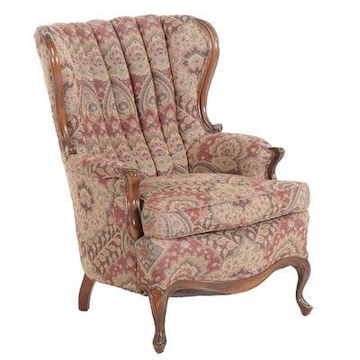 Upholstered Fanback Armchair, Early to Mid 20th Century