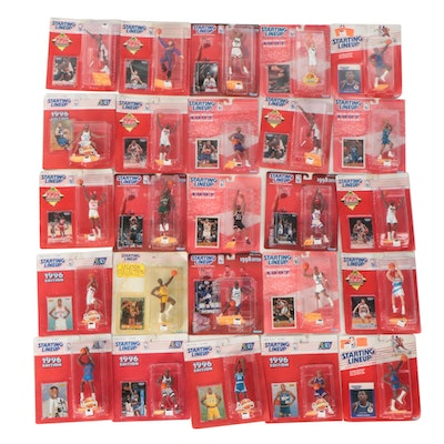 Kenner NBA Starting Lineup Action Figure Collection, 1990s