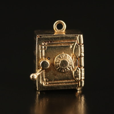 14K Money Safe Charm