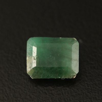 Loose 1.60 CT Rectangle Faceted Beryl