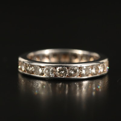 14K 2.53 CTW Diamond Eternity Band