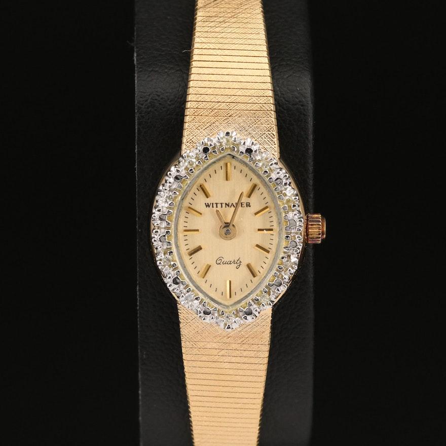 Wittnauer Diamond Quartz Wristwatch