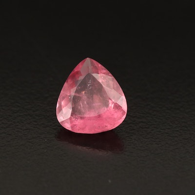 Loose 3.55 CTW Pear Faceted Tourmaline
