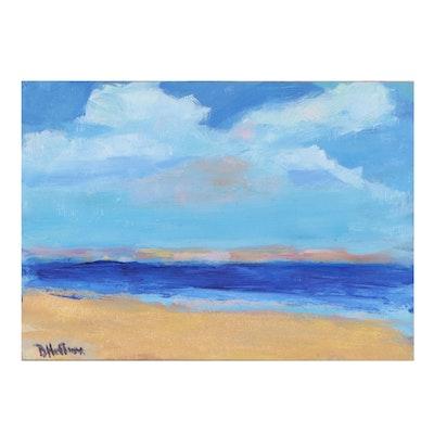 Seascape Acrylic Painting, 21st Century