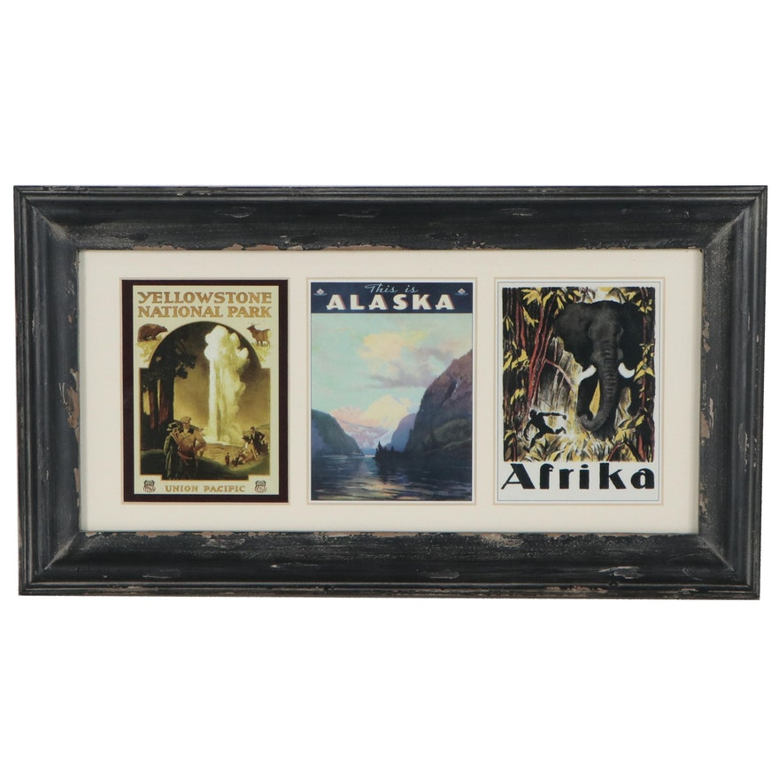 Offset Lithograph Postcards, Late 20th Century