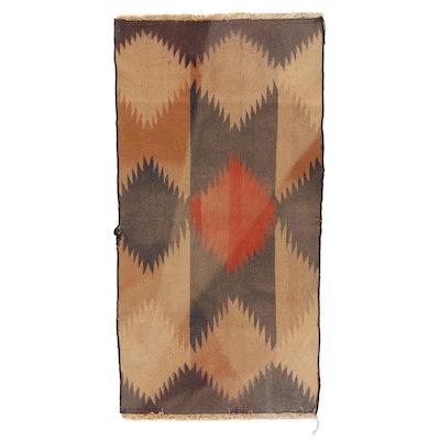 3'2 x 6'2 Handwoven Afghan Kilim Accent Rug