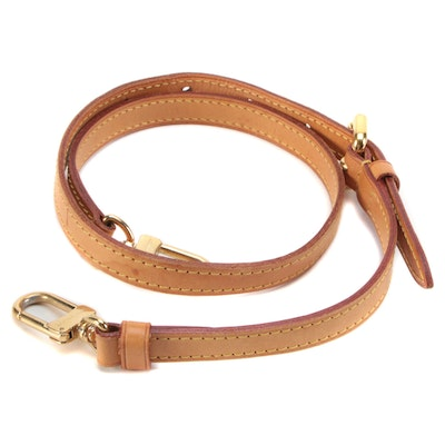 Louis Vuitton Detachable Shoulder Strap in Vachetta Leather