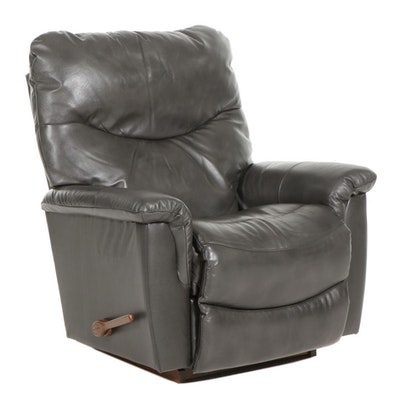 La-Z-Boy Contemporary Leather Rocking Recliner