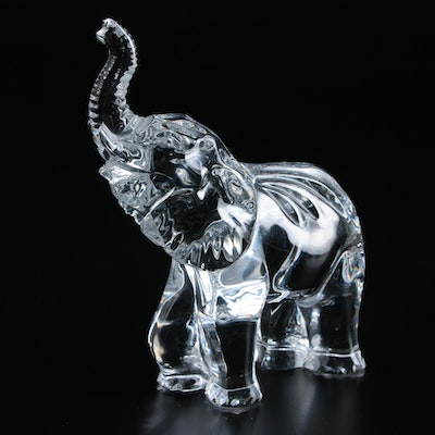 Waterford Crystal Elephant Figurine