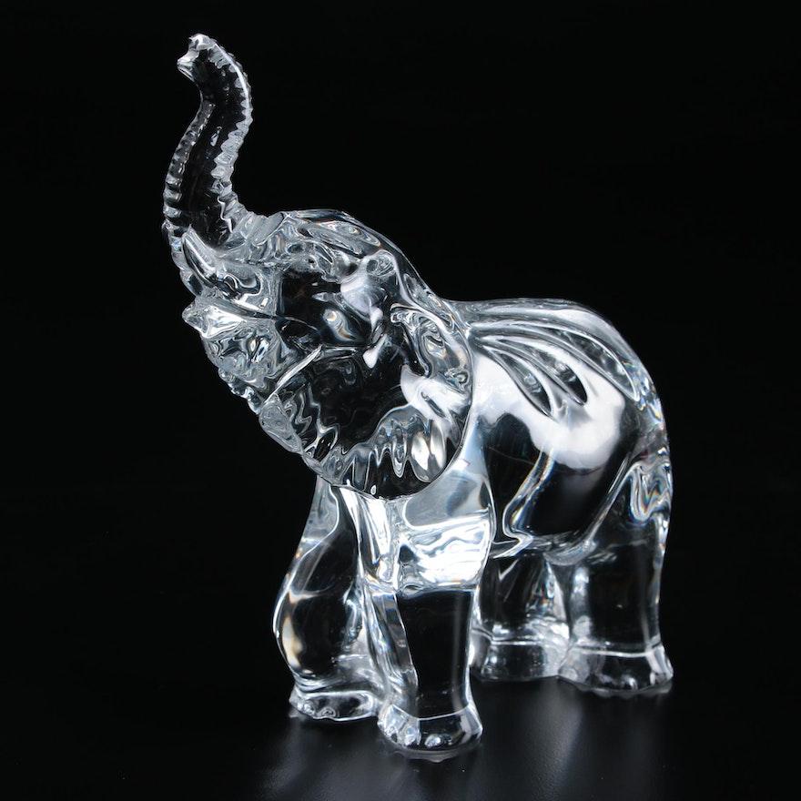 Waterford Crystal Elephant Figurine