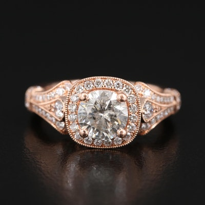 Gabriel & Co. 14K 1.62 CTW Diamond Ring