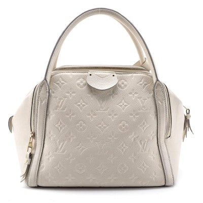 Louis Vuitton Marais MM in Monogram Empreinte Neige Leather